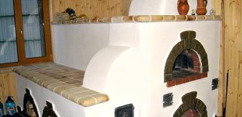 Печь с лежанкой