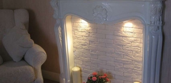 Шик и стиль в доме с каминным порталом
