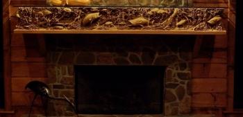 Герметик и клей для облицовки каминов и печей