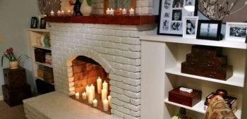Какую комнату выбрать для размещения камина