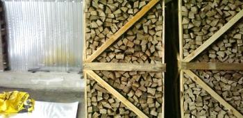 Типы дров для топки камина