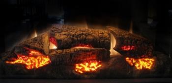 Декоративные дрова для камина