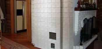 Плитка для отделки печей