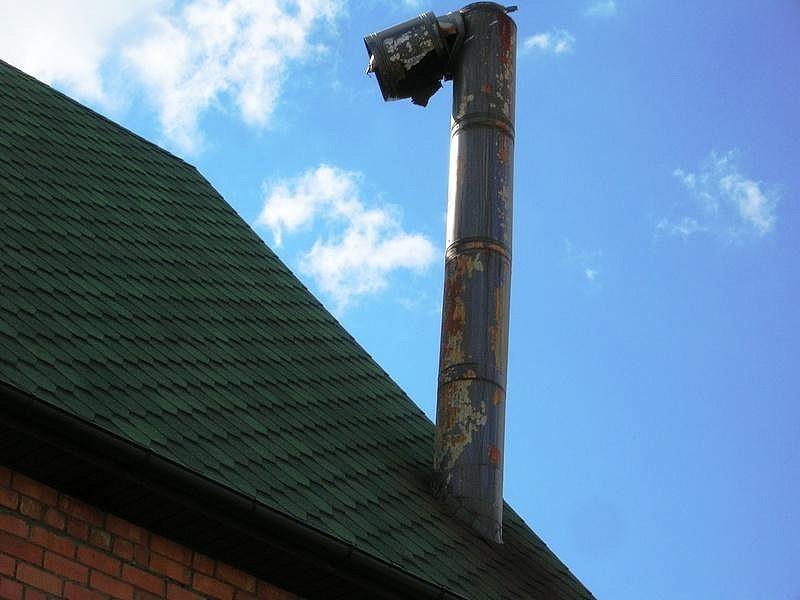 Защита дымоходов ветра опора под дымоход
